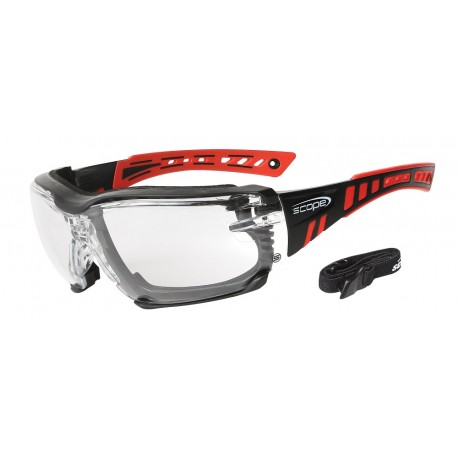 a3b7368fe0 Speed Pro Black Red Clear
